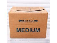 Self Pak cardboard moving/storage boxes