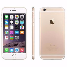 Apple iPhone 6 128GB Gold (EE) -- can be UNLOCKED if required