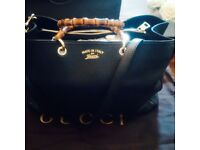 Classy Gucci Bamboo Large Bag