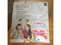 Bellini Cocktail Drink Fountain