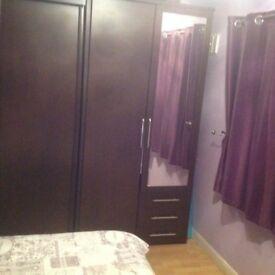 For sale bedroom furniture wardrobes bedside cabinets,chest,and bed frame £50 the lot.