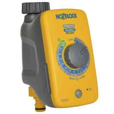 Hozelock Water Timer Select Yellow and Grey Outdoor Auto Irrigation Controller