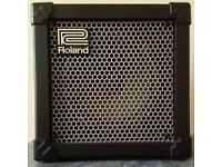 Roland cube 15 guitar amplifier amp