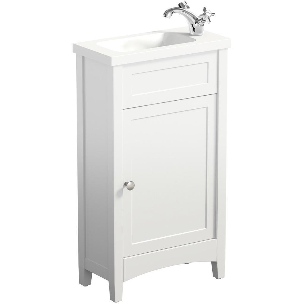 The Bath Co. Camberley cloakroom vanity unit - Basin not included ...