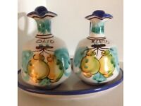 Olio E Aceto Hand Made Lovely Set