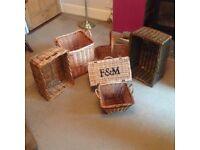 Wicker Baskets Suitable for Logs /Kindling etc