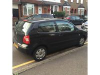 Volkswagen Polo. 1.2 Petrol. 3 Doors. Black. 2003. VW. New MOT