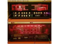 Laney IRT120H - 120w amp head & footswitch, plus fitted padded case & X4 spare 12ax7 pre-amp tubes