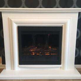 Electric Fire Place and Surround