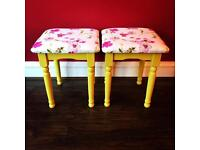 Dressing table stools, bedroom stools, stool £35 each