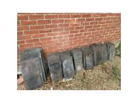 Slate roof tiles £100 for the lot