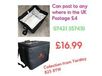 Professional hot food delivery delivery bag large