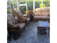 Conservatory/sunroom furniture set