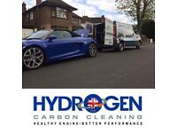 Hydrogen carbon cleaning