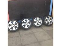 "4x16"" Audi/VW Alloys and tyres"