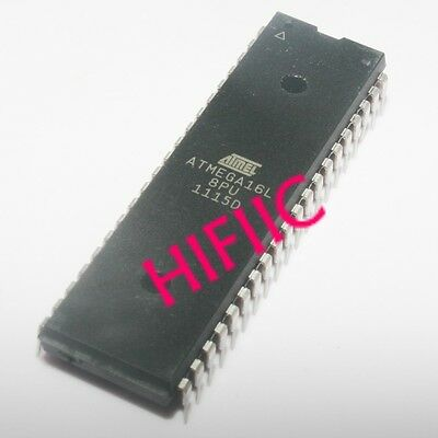1pcs Atmel Atmega16l-8pu 8-bit Avr Microcontroller With 16k Bytes Flash