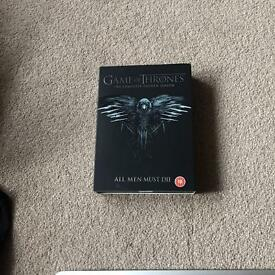 Game of thrones series 4 DVD