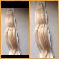 Tape skin hair extensions