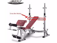 BH Fitness Optima Press Weight Bench (Olympic)