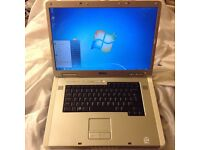 Dell9400 250GB HD, 17inch screen, 1.66GhzDualCore, 5hrs battery life 2or3gb ram