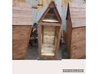 Log store handmade using recycled wood look at our other handmade items