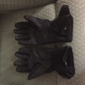 Motor cycle winter gloves