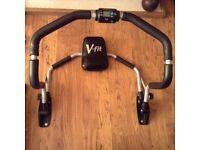 V-Fit Ab Trainer, sit-up training machine / abdominal trainer (ab crunch core worker)