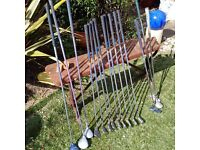 Nearly new ladies golf clubs