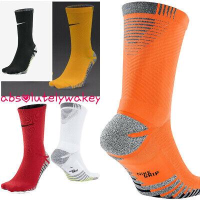 NikeGrip Strike Light Lighweight Crew Unisex Football Socks DRI-FIT Anti Slip