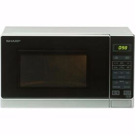 New Sharp R272SLM Solo Microwave Silver 20L 800W Was: £69.99