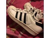Adidas super star size 5.5