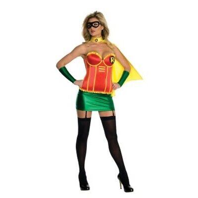 Damen Erwachsener Reiz Batman Dc Comics Robin Korsett (Erwachsene Weibliche Robin Kostüme)