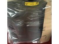 "Argos Grey Velvet Armchairs (x2) ""Brand New In Packing"""