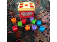 Fisher price shape sorted baby toy
