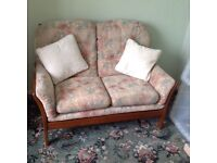 2seater sofa and 2 chairs