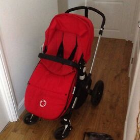 Bugaboo Cameleon 3 Puschair and Carrycot