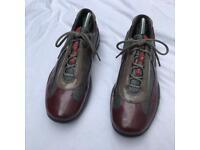 Prada patent trainers size 5.5/39.5
