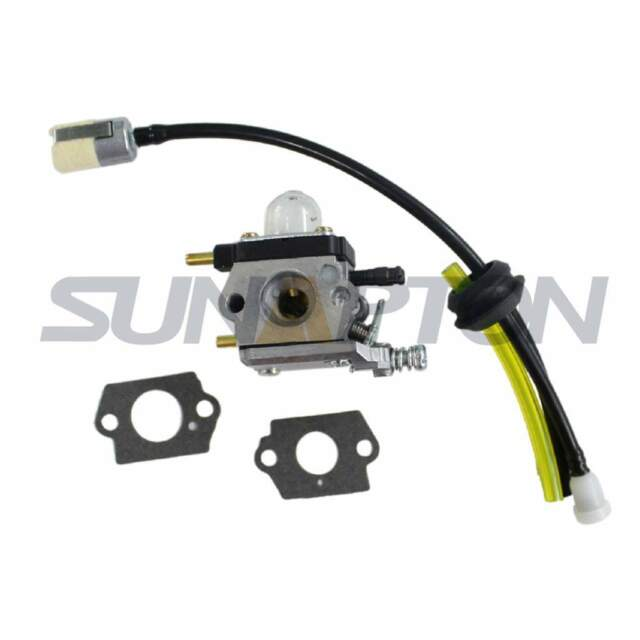 Carburetor & Fuel Line Kit for Mantis Tiller Cultivator 7222e Sv ...