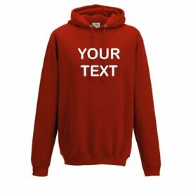 Custom Personalised Hoodies, Sweatshirts & T shirts - Prompt Efficient Service - Competitive Prices