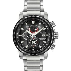 Citizen Eco Drive At9071-58E Stainless Steel Bracelet NEW WARRANTY
