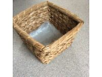Wicker type basket