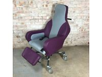 Fully Reclining Tilt In Space Mobile Chair Wheel Chair Outside PVC Padding