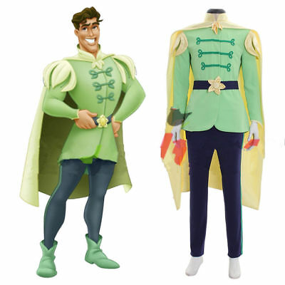 The Princess And The Frog Prince Naveen outfit Adult Men Cosplay costume - Princess And Frog Costume