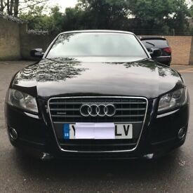 AUDI A5 automatic Black Convertible