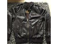 Leather Superdry jacket