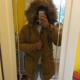 Men's Zara Fur Parker Winter Coat