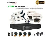 CCTV 8CH DVR Full HD 4MP 1440P Camera 30M Night Vision Home/Shop Security System
