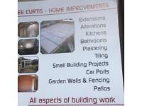 Builder/ plasterer/ tiling