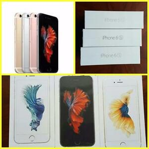 Brand New Apple iPhone 6S -Unlocked/Rogers/Telus/Bell/Fido/Koodo/Virgin/WIND/ Apple Warranty!!!***