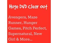 DVD's - Many New & Sealed - Supernatural, Avengers, New Girl, Box Set| Individual Priced & Lot Sale